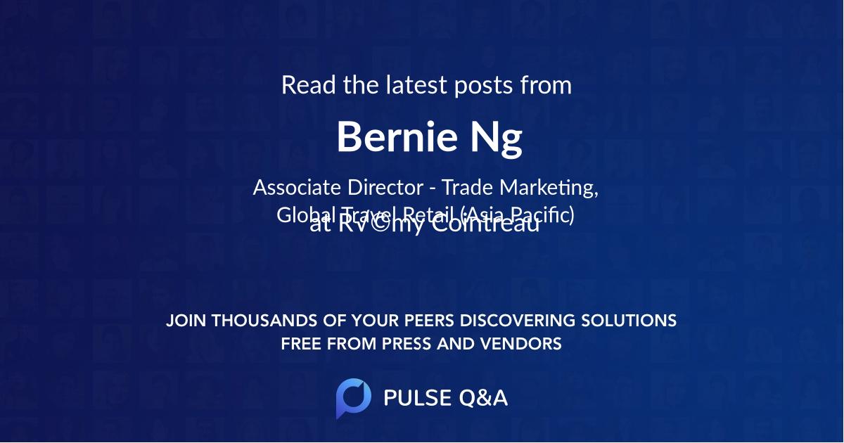Bernie Ng