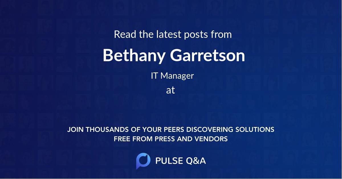 Bethany Garretson