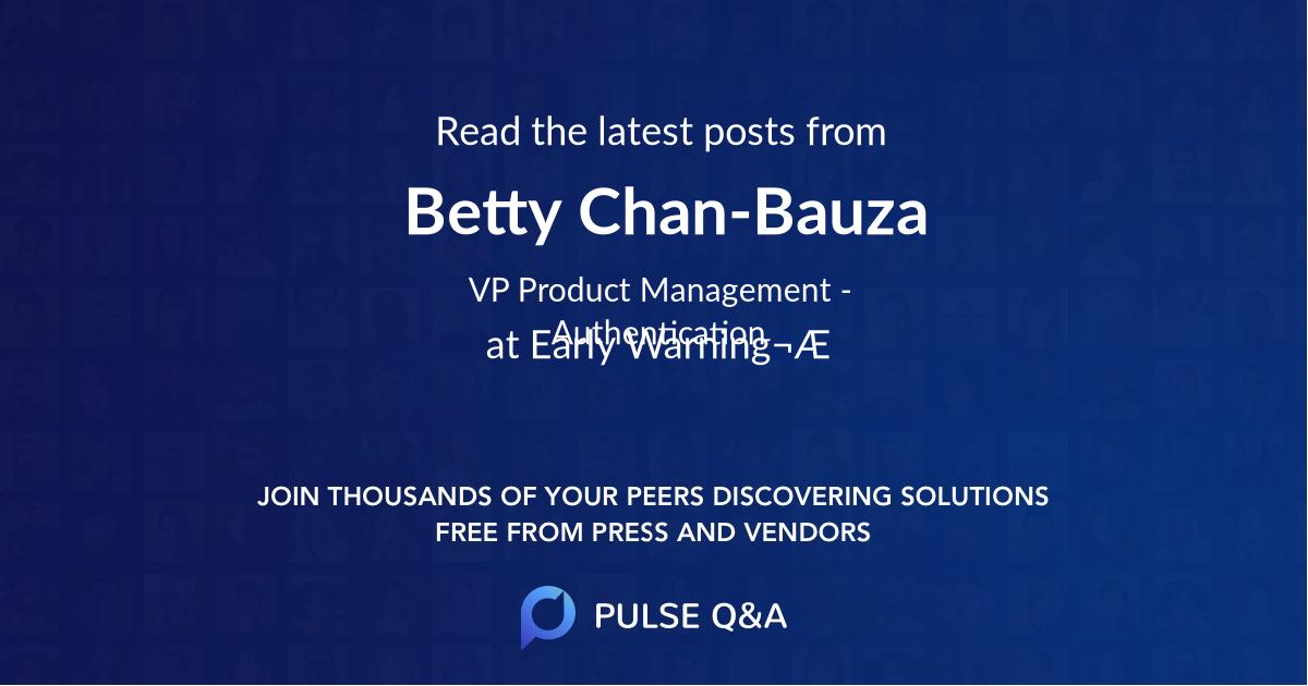 Betty Chan-Bauza