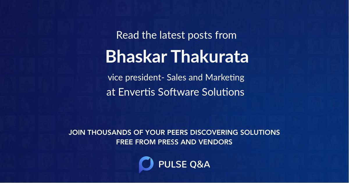 Bhaskar Thakurata