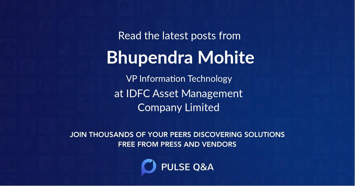 Bhupendra Mohite