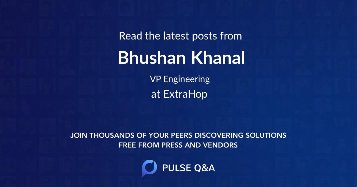Bhushan Khanal