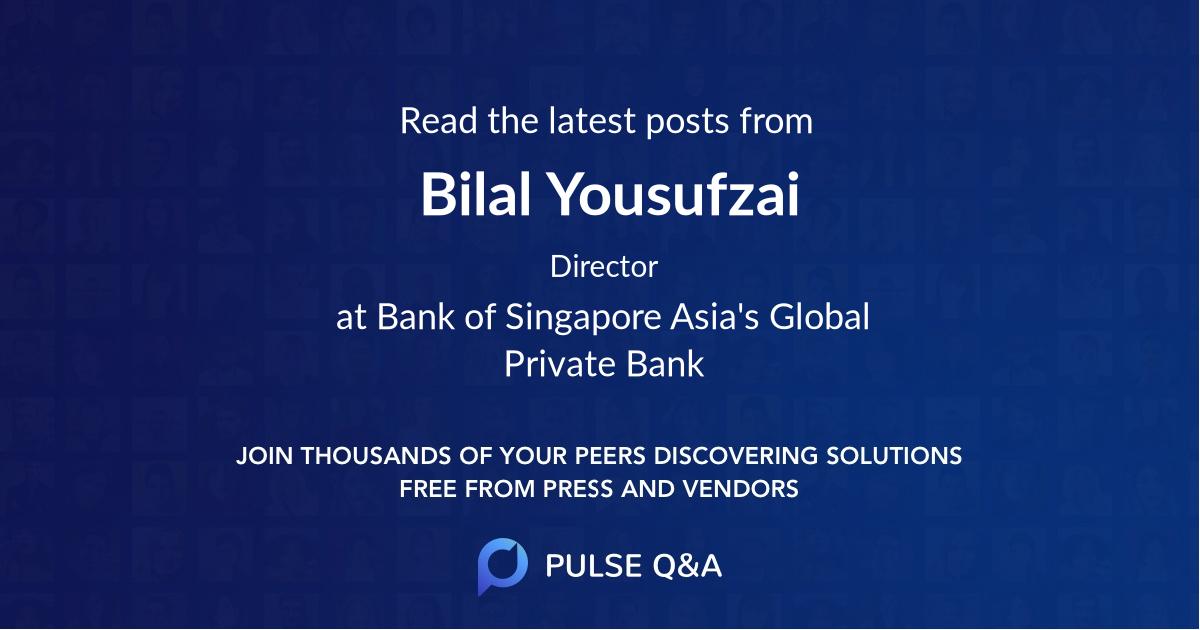 Bilal Yousufzai
