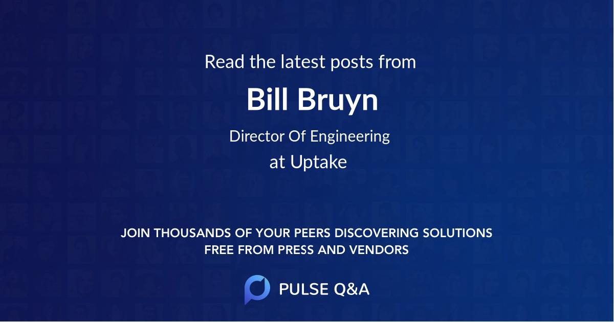 Bill Bruyn