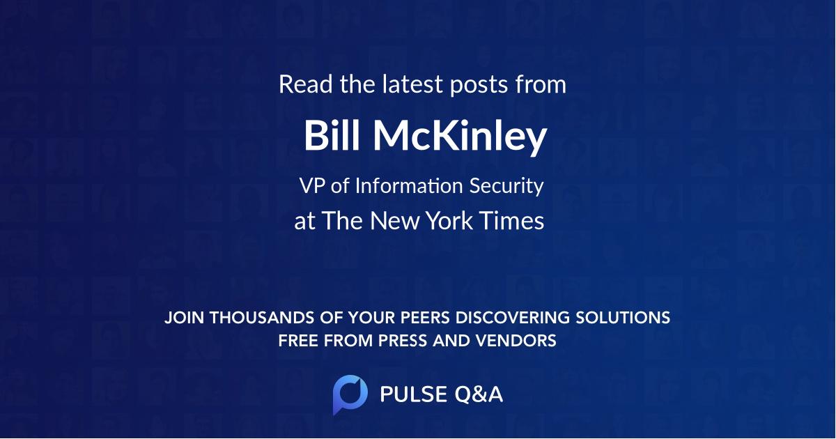 Bill McKinley
