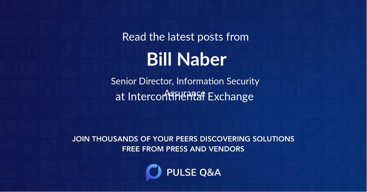 Bill Naber