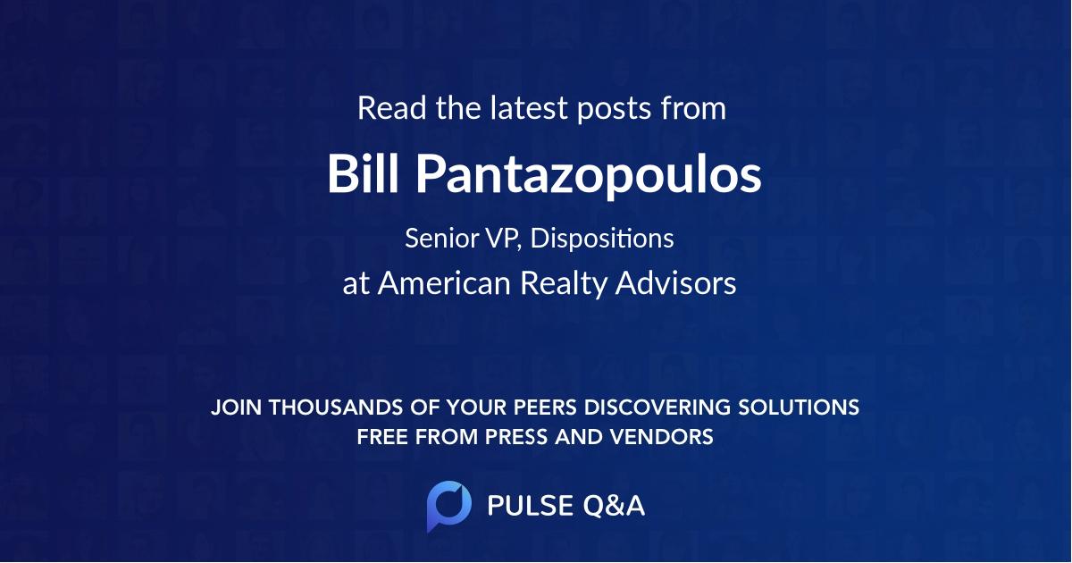 Bill Pantazopoulos
