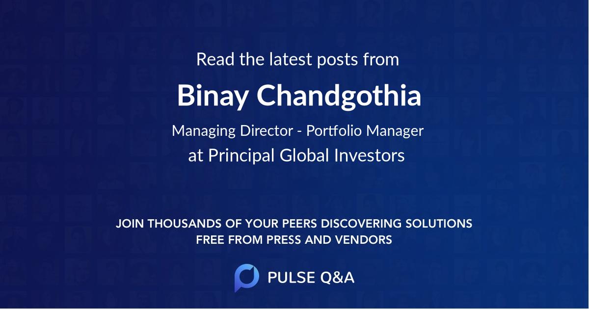 Binay Chandgothia