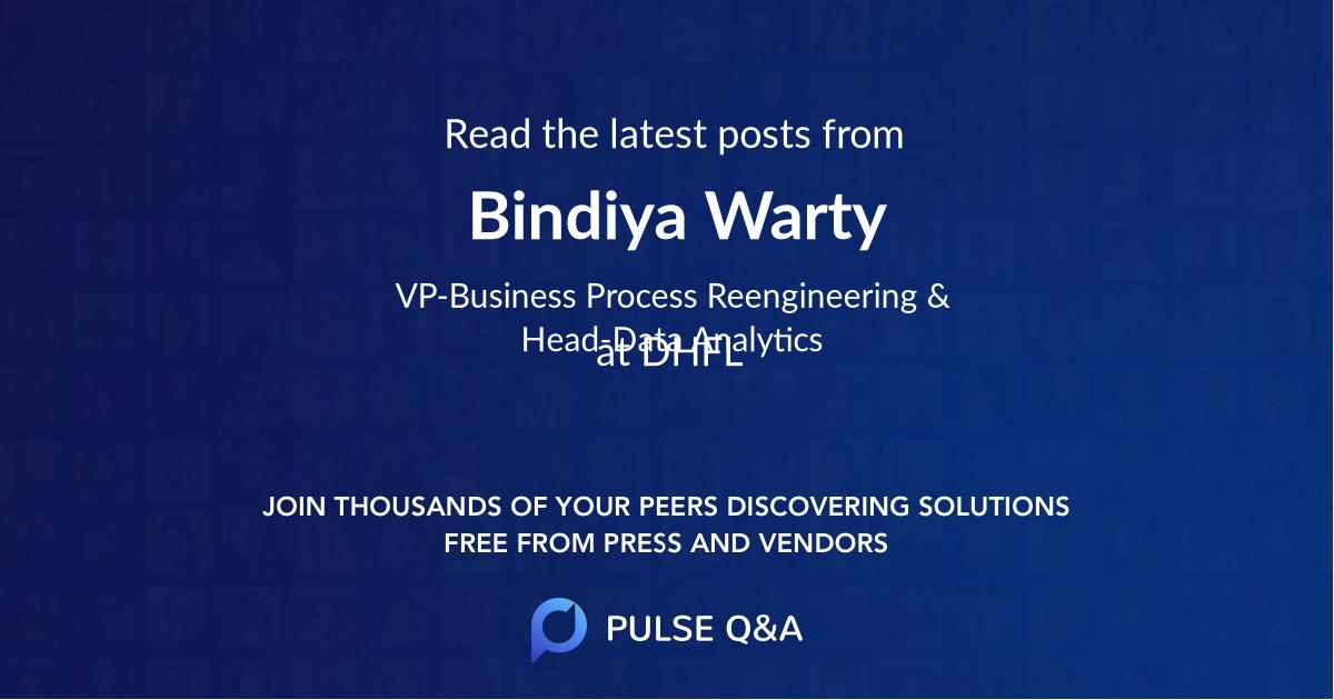 Bindiya Warty