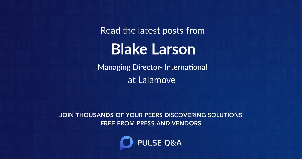 Blake Larson