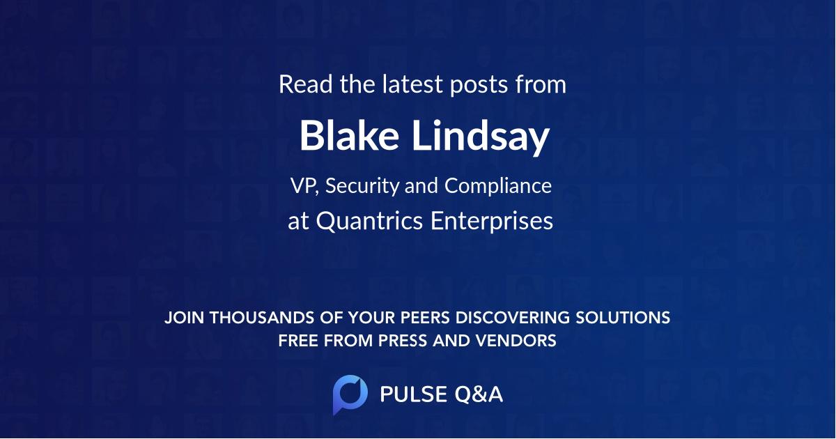 Blake Lindsay