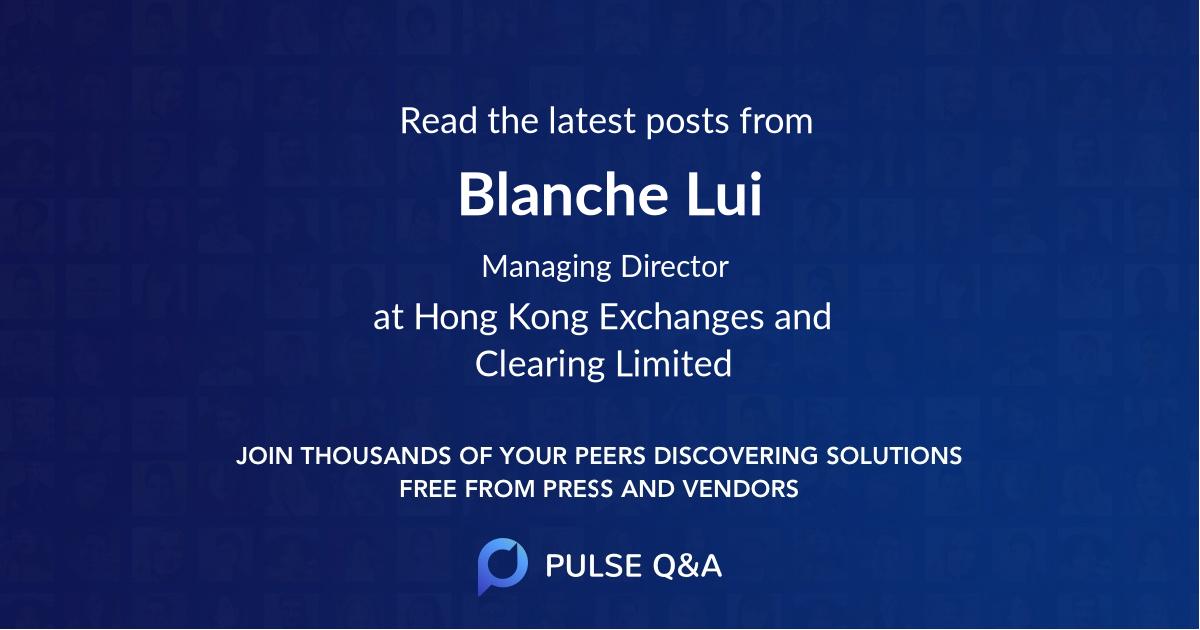 Blanche Lui