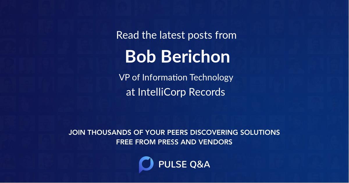 Bob Berichon