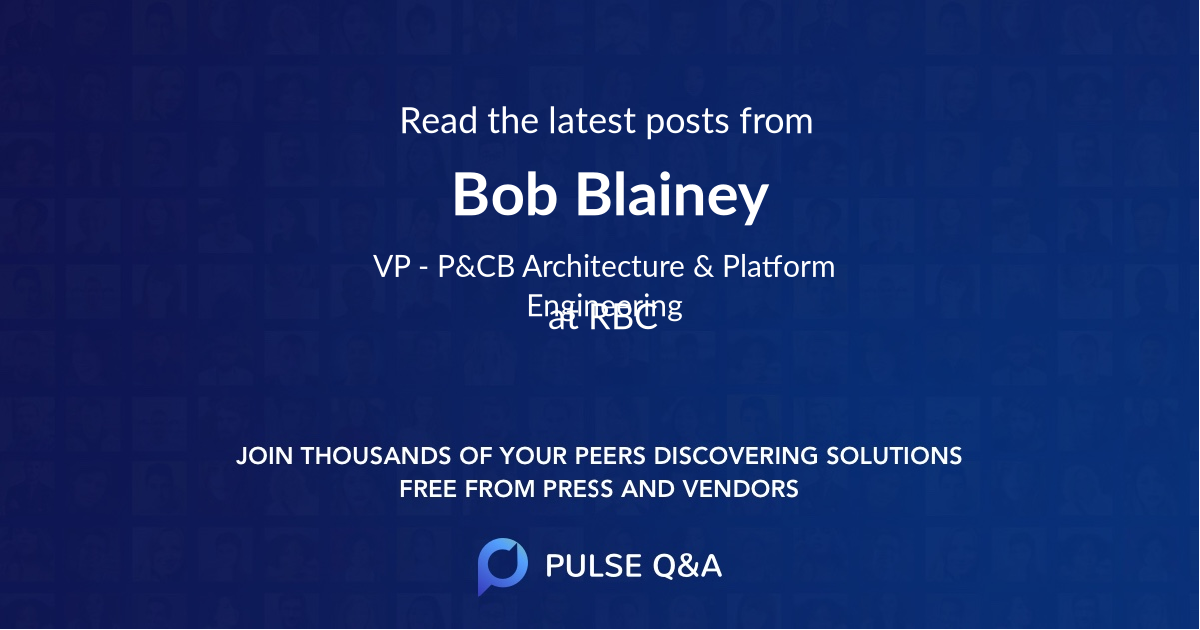 Bob Blainey