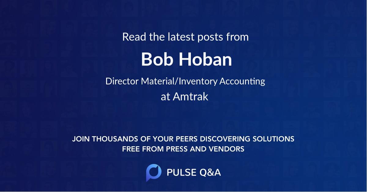 Bob Hoban