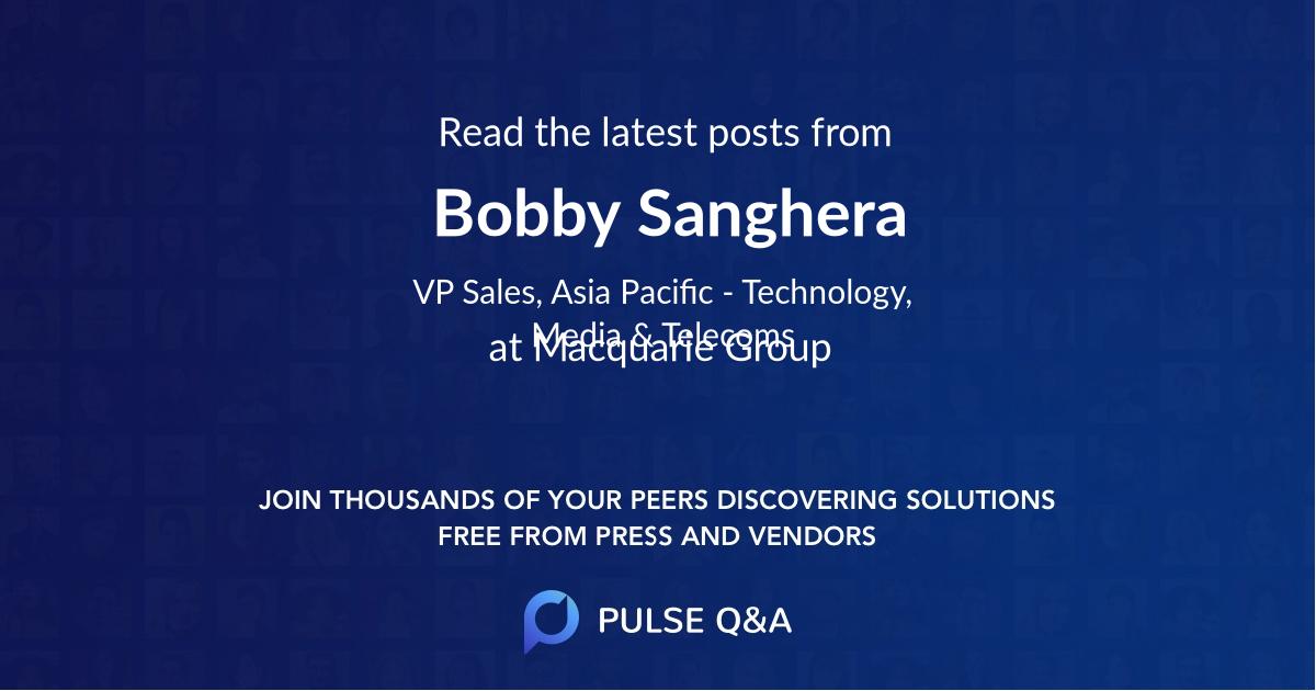Bobby Sanghera
