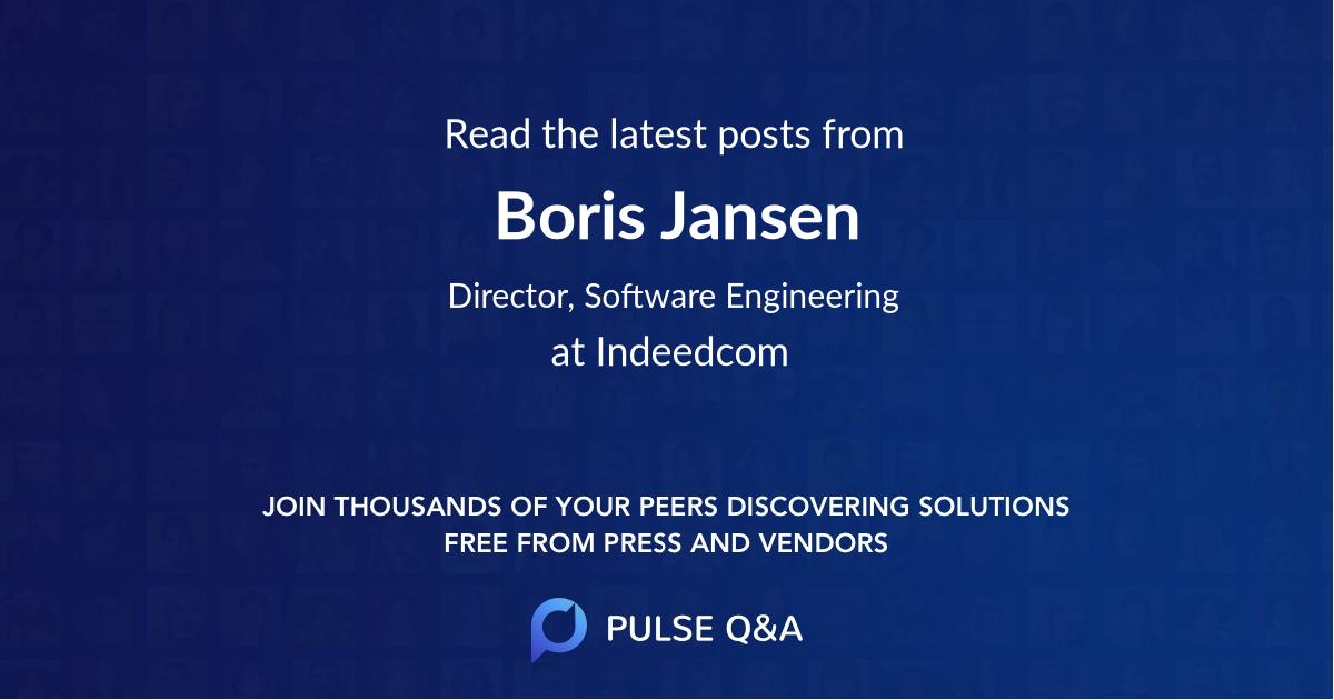 Boris Jansen
