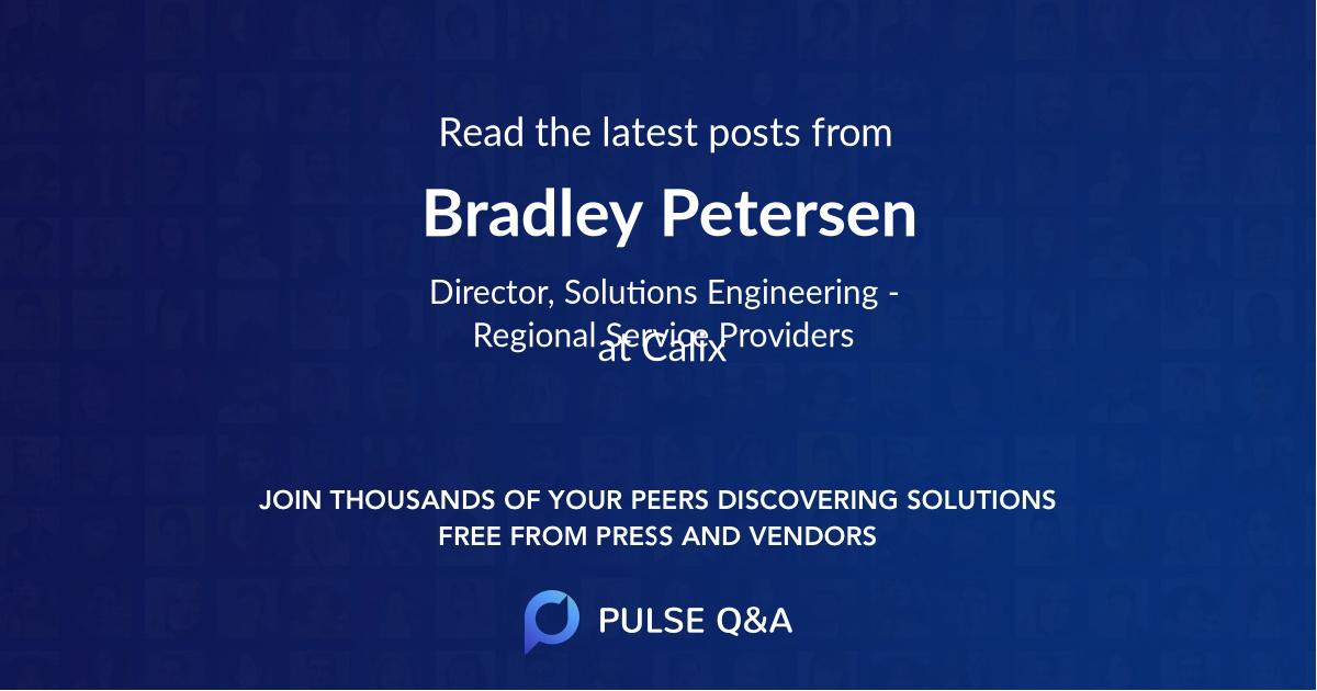 Bradley Petersen
