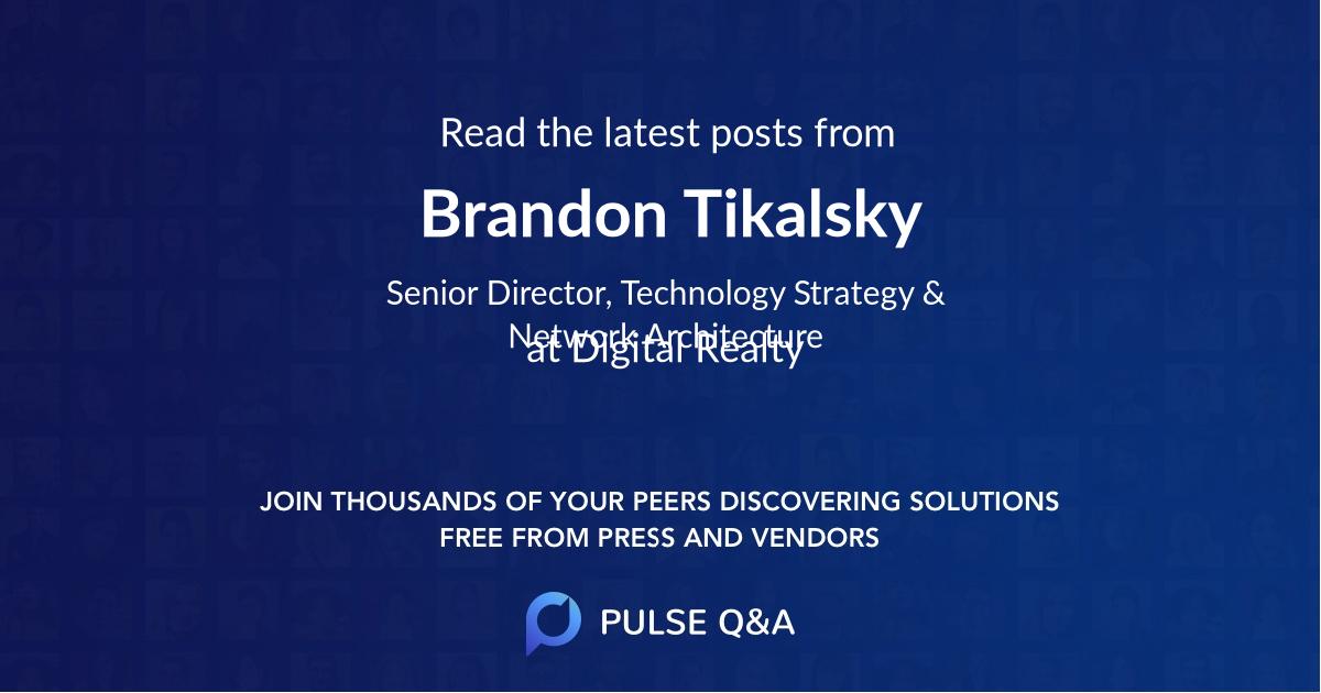 Brandon Tikalsky