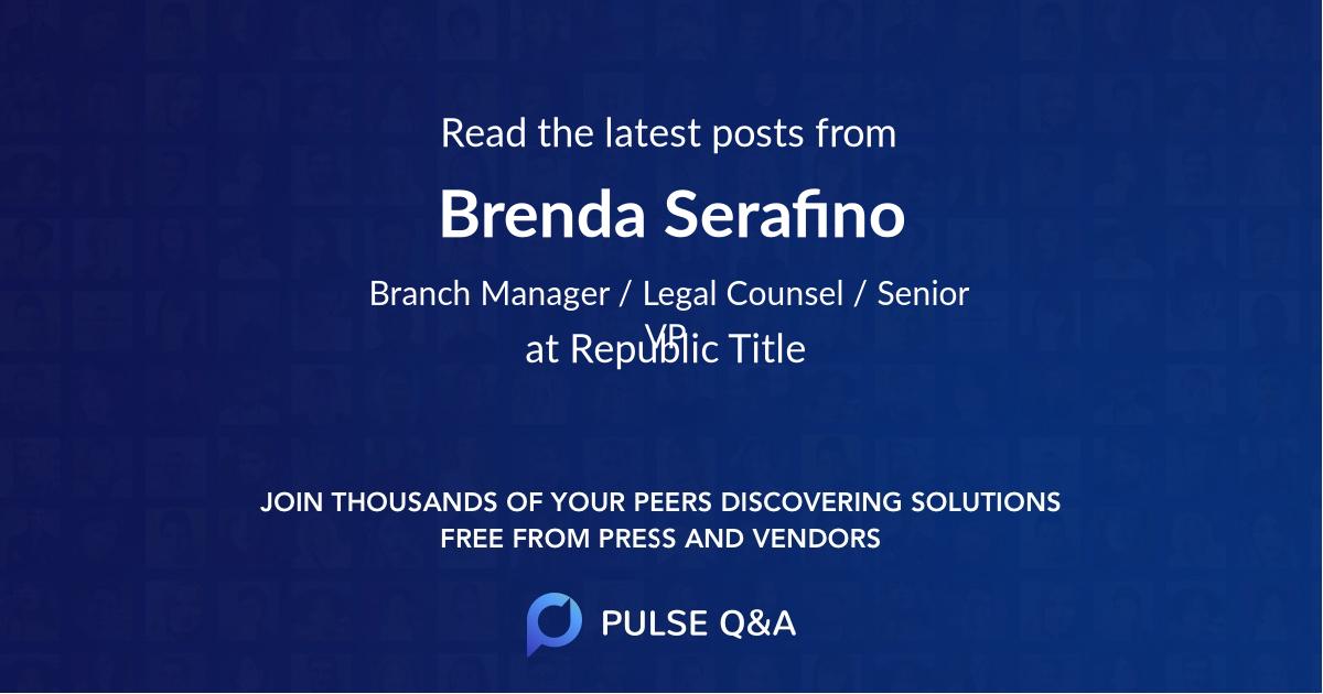 Brenda Serafino