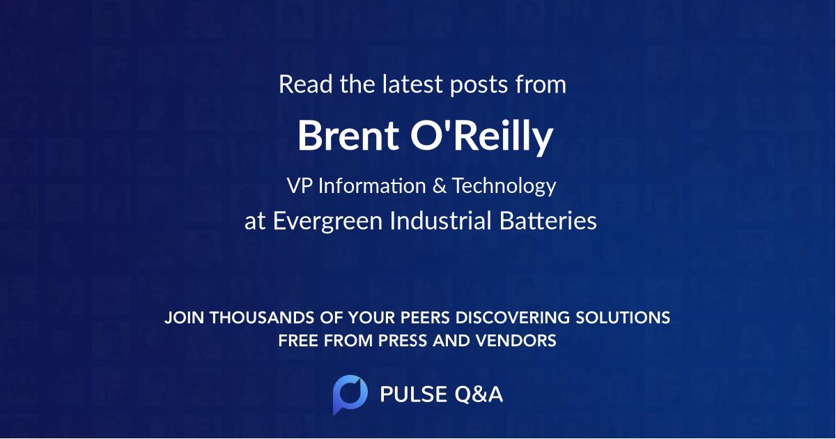 Brent O'Reilly