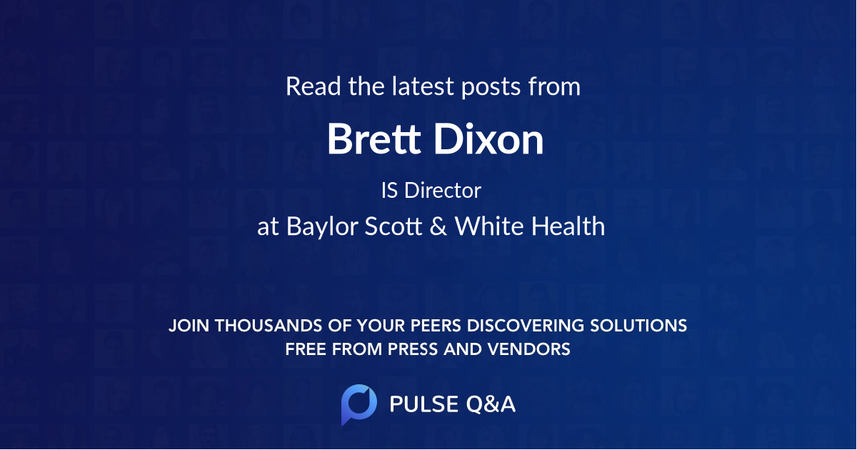Brett Dixon
