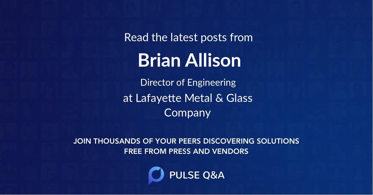 Brian Allison