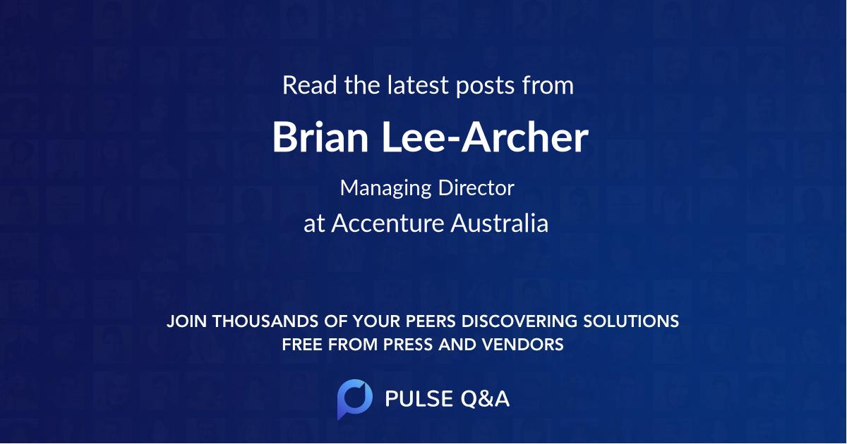 Brian Lee-Archer