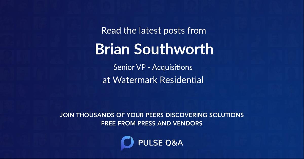 Brian Southworth