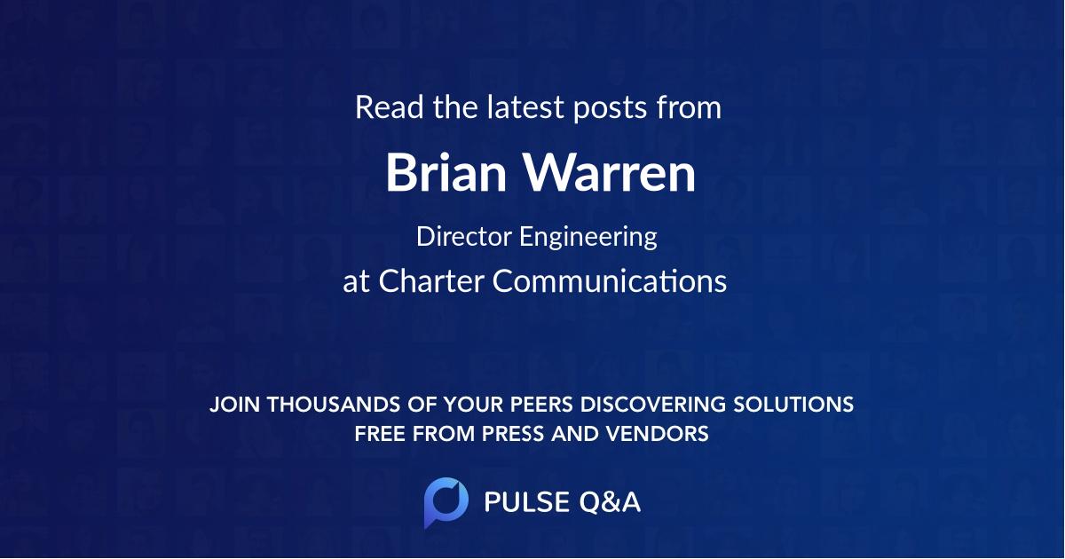 Brian Warren