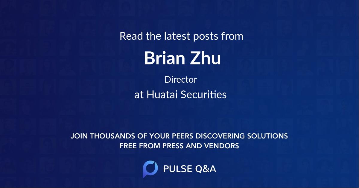 Brian Zhu