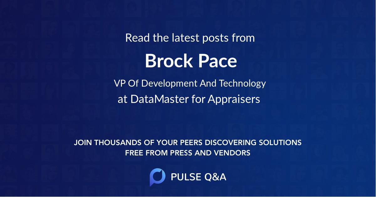 Brock Pace