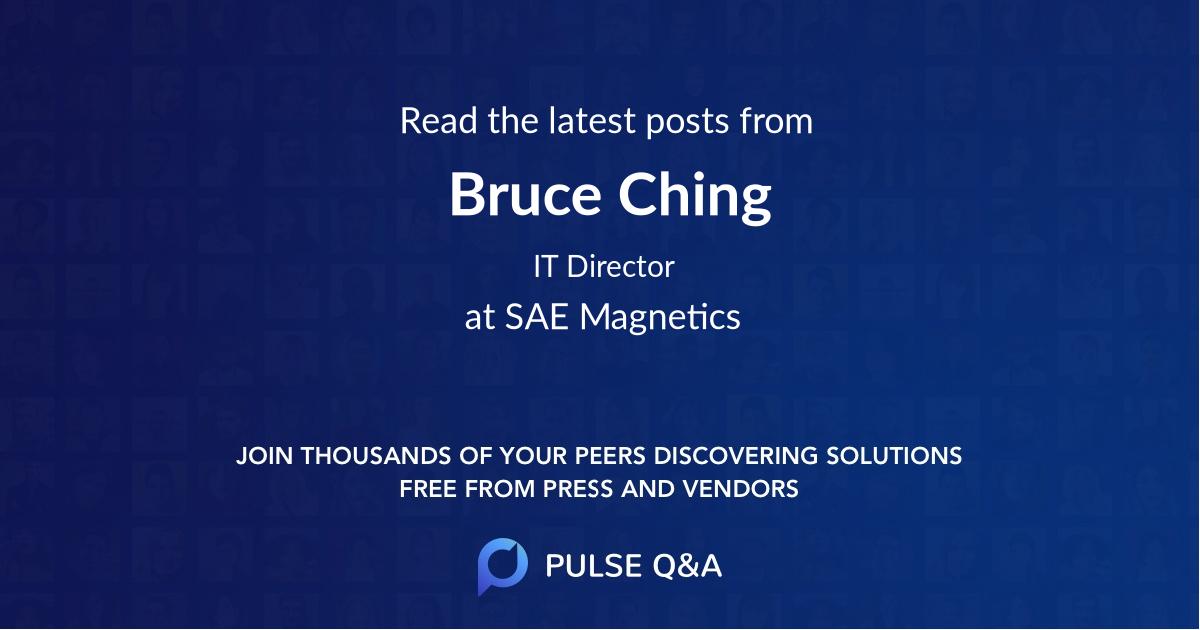 Bruce Ching