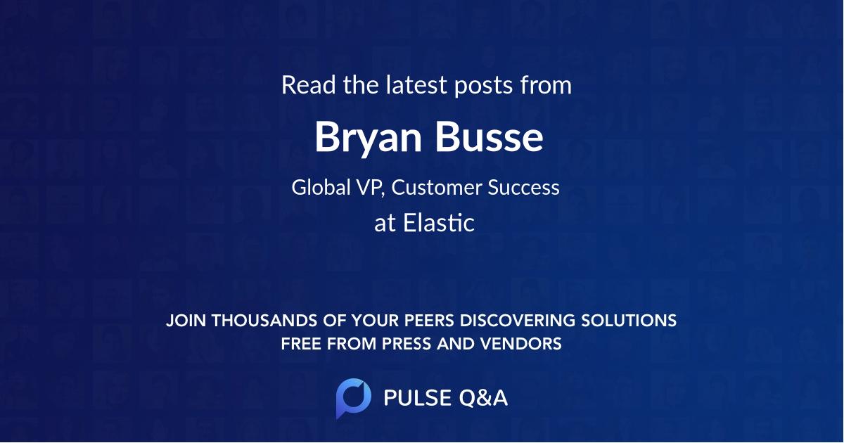 Bryan Busse