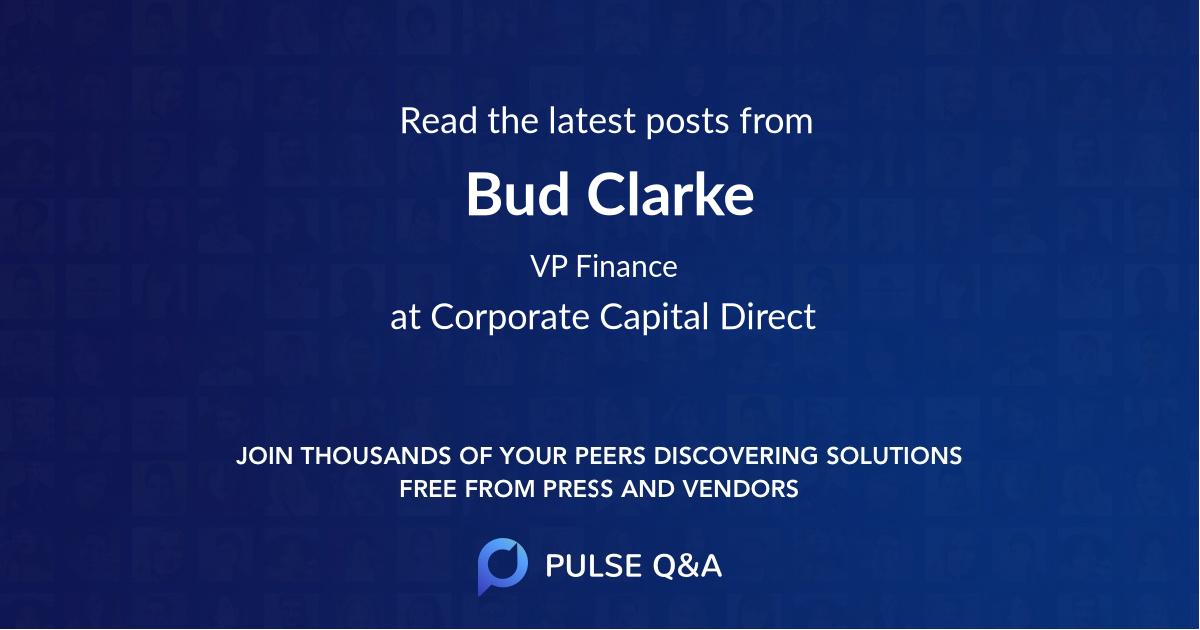 Bud Clarke