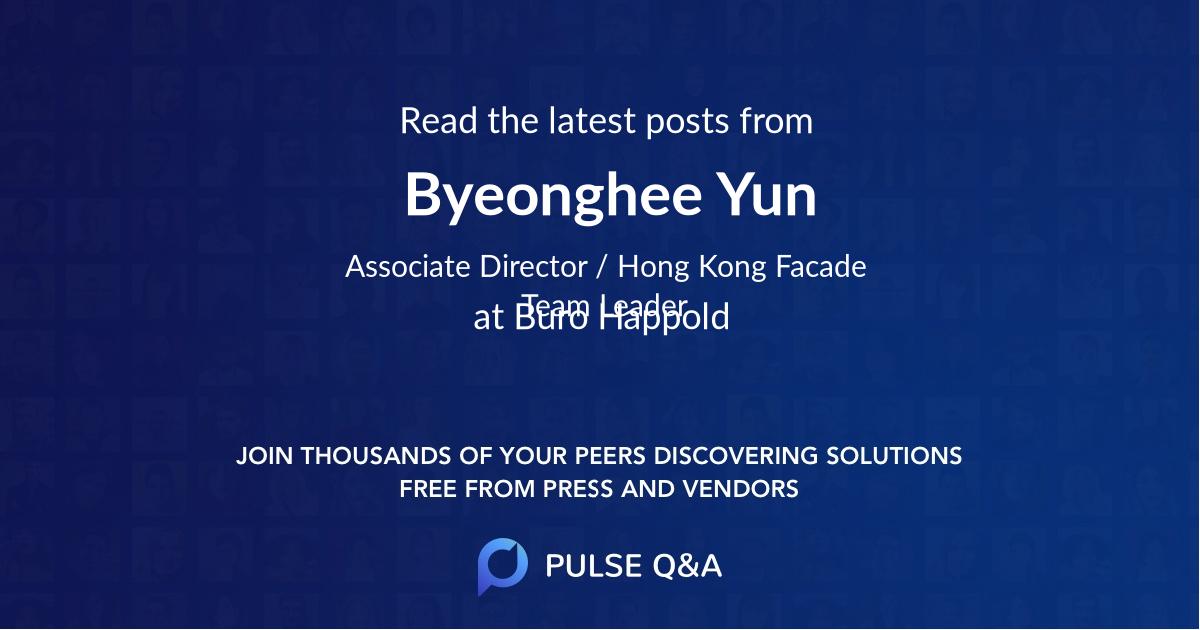 Byeonghee Yun