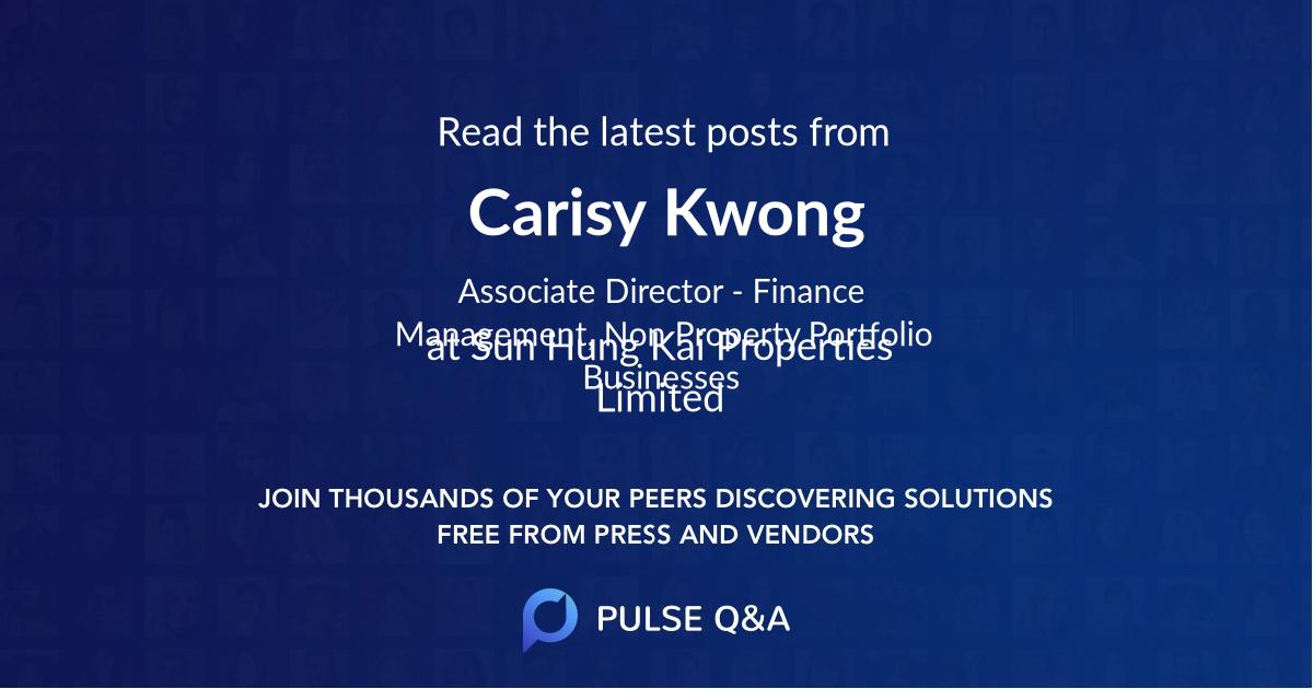 Carisy Kwong
