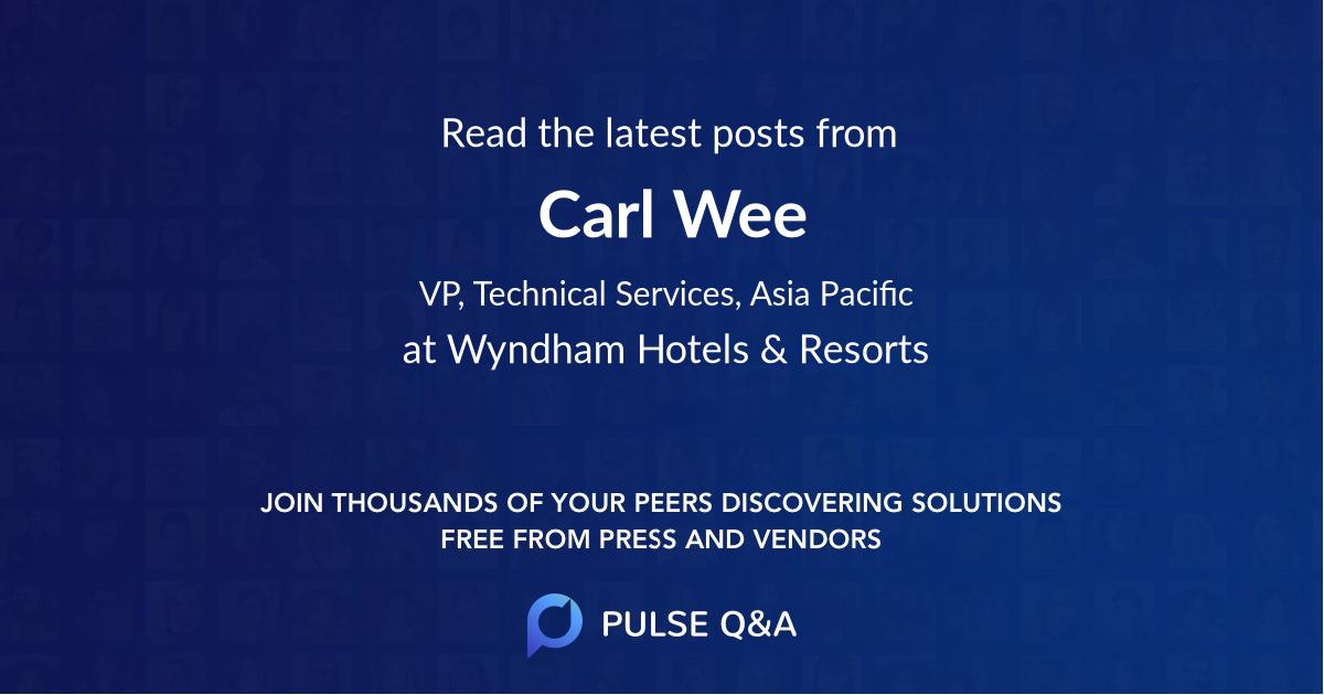Carl Wee