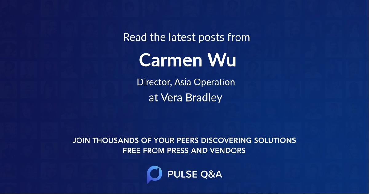 Carmen Wu