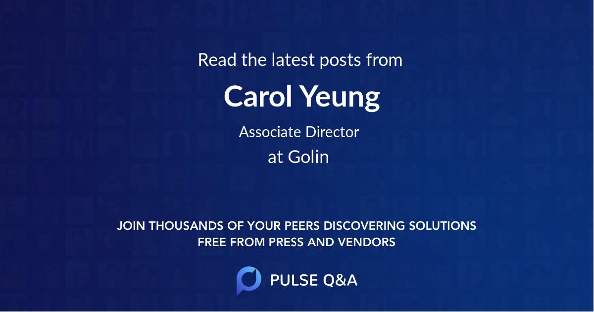 Carol Yeung