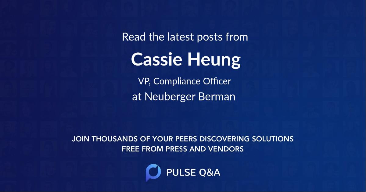 Cassie Heung