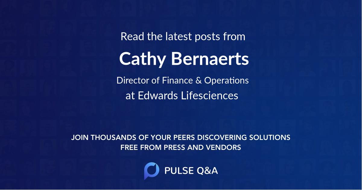 Cathy Bernaerts
