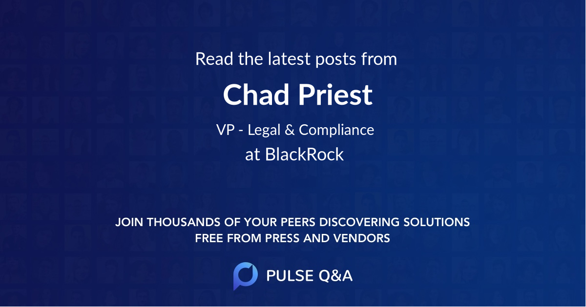 Chad Priest