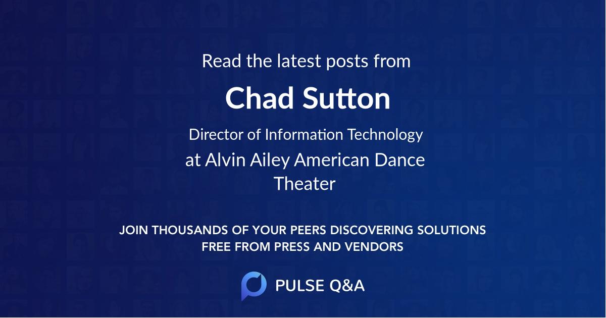 Chad Sutton
