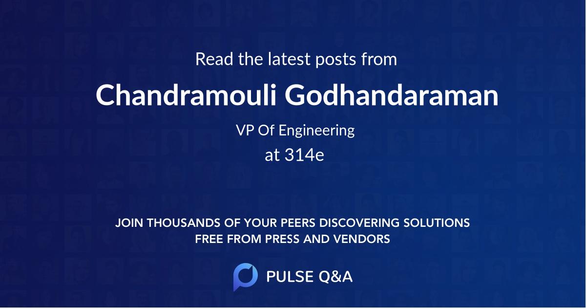 Chandramouli Godhandaraman