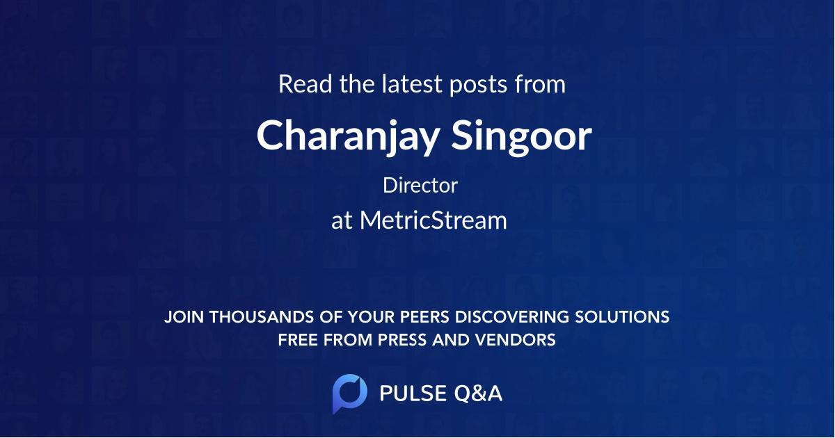 Charanjay Singoor