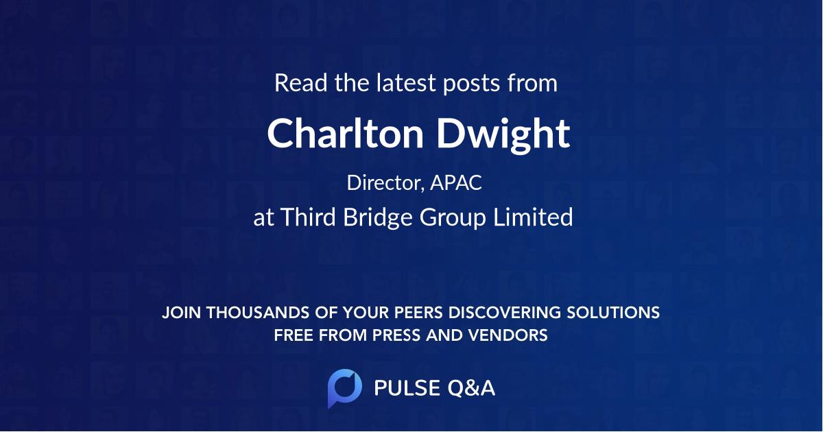 Charlton Dwight