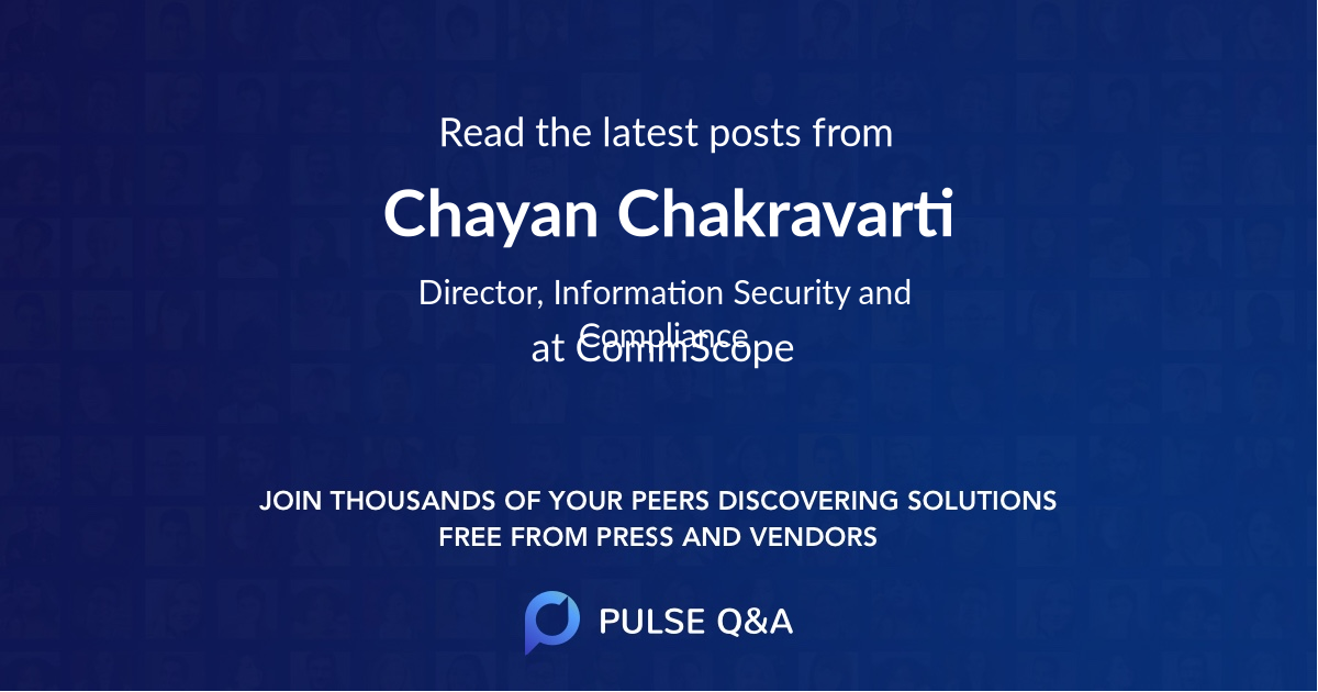 Chayan Chakravarti