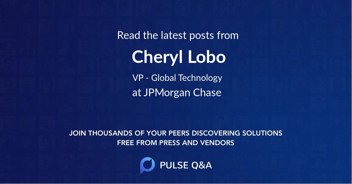 Cheryl Lobo