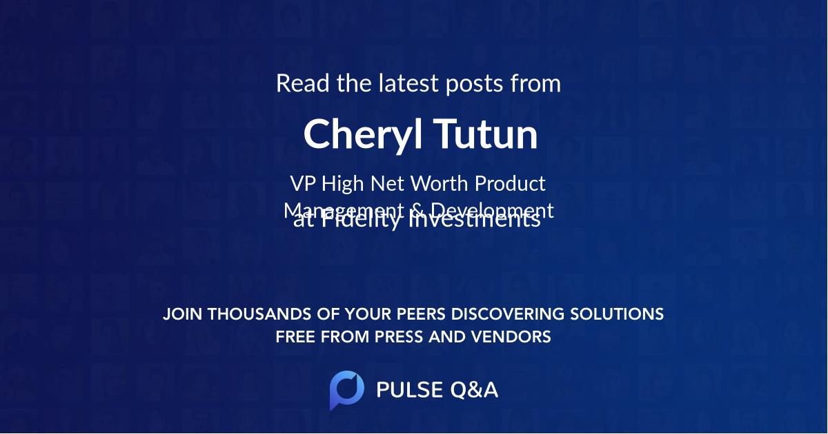 Cheryl Tutun
